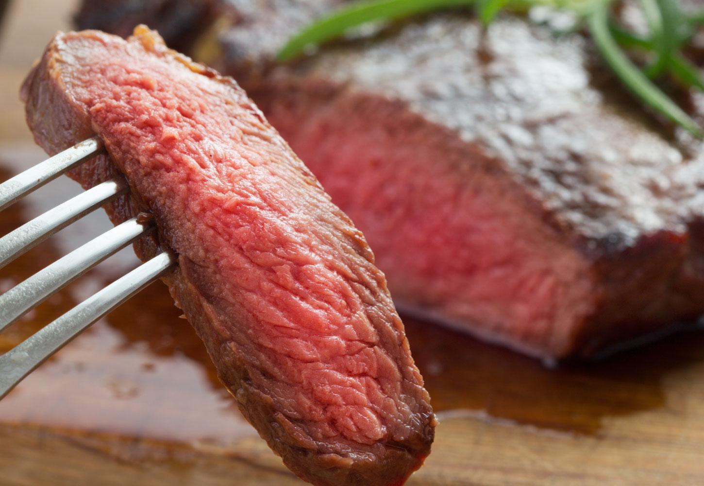 Succulent Strip Loin Steak at Eden Trattoria