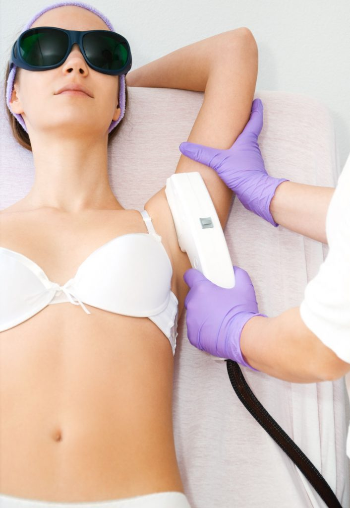 Laser hair removal at Skin & Bodyfresh